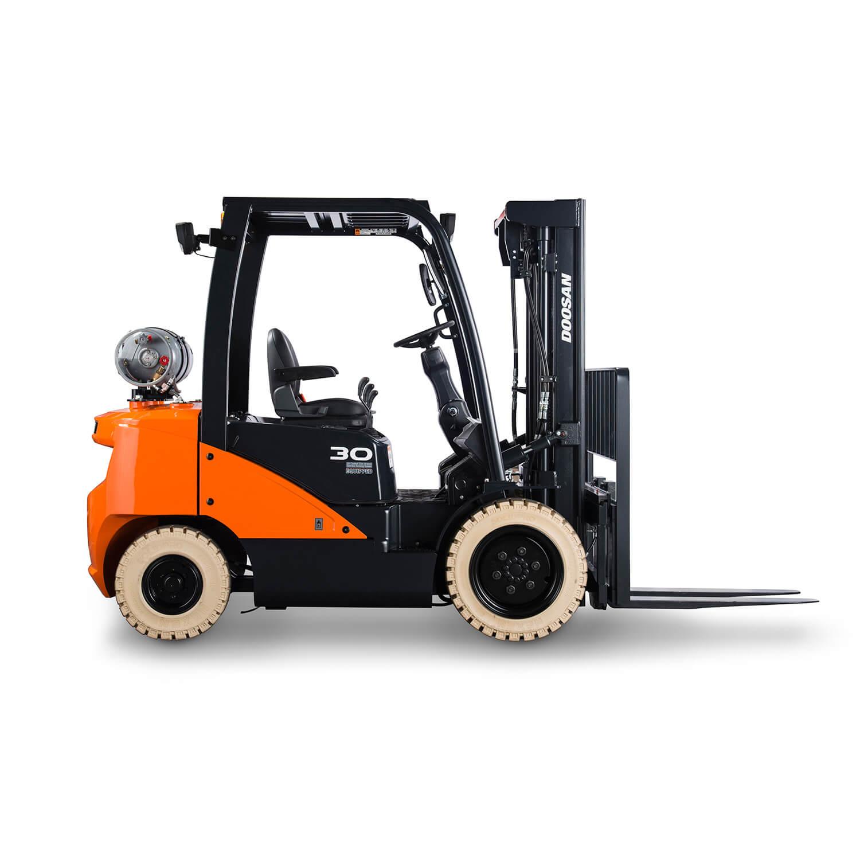 7-Series 2 – 3.5 Tonne LPG Forklift Trucks