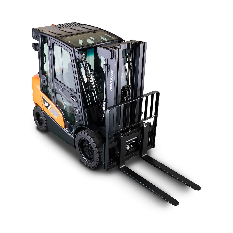 Doosan 9-Series 3.5 – 5.5 Tonne Diesel Forklift Trucks