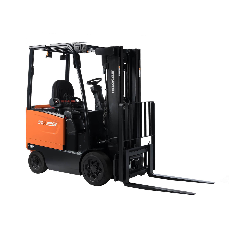 Doosan 7 Series 2.2 – 3.5 Tonne Electric Forklift Trucks