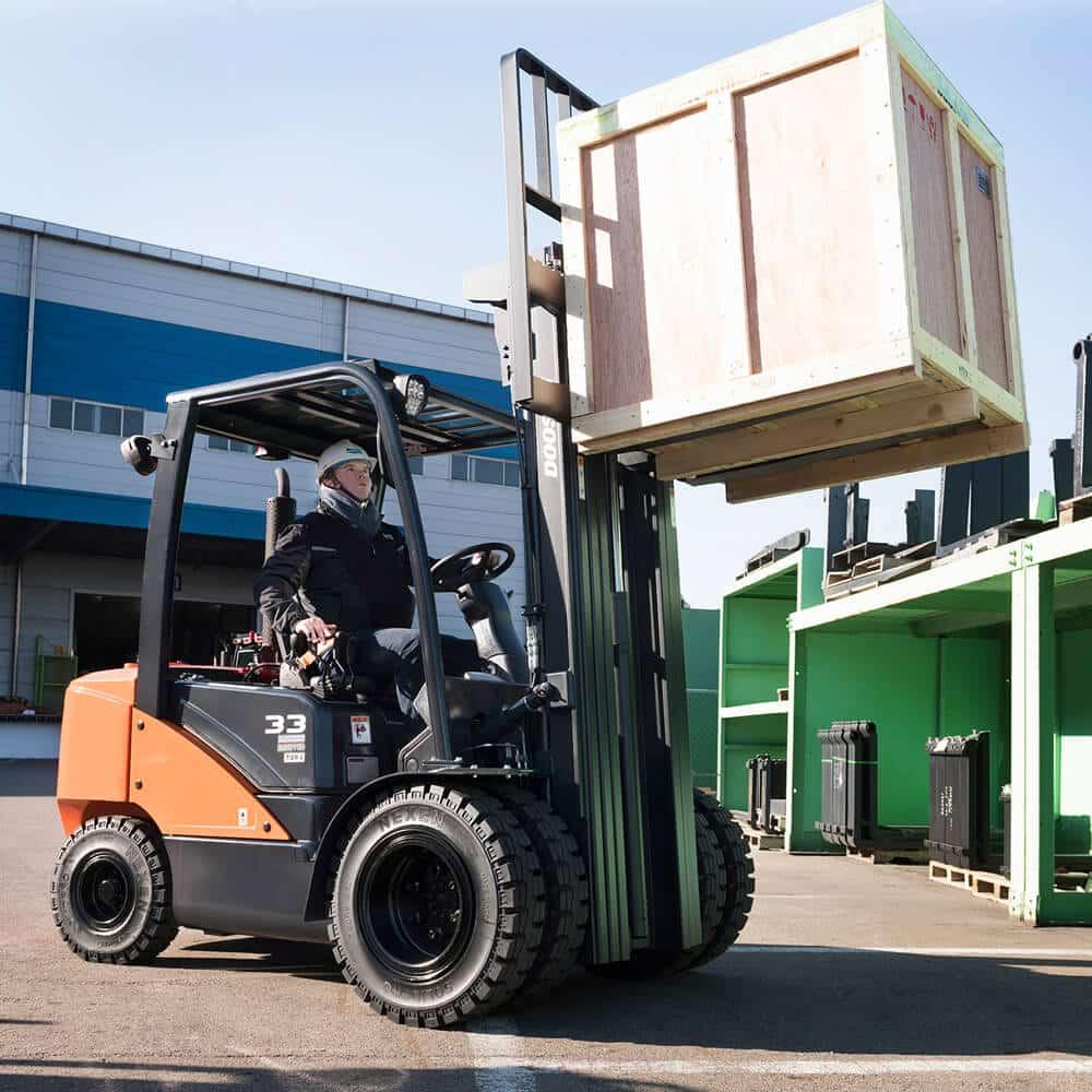 Doosan 9 Series Loading Pallettes - KS Lift Trucks