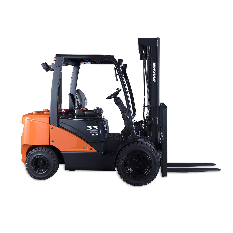 Doosan 5-Series 1.5 – 2.0 Tonne Diesel Forklift Trucks
