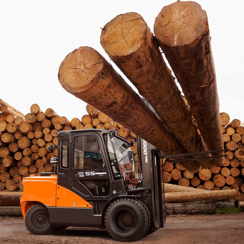Doosan 9-Series 2 – 3.5 Tonne - Log Lifter - KS Lift Trucks
