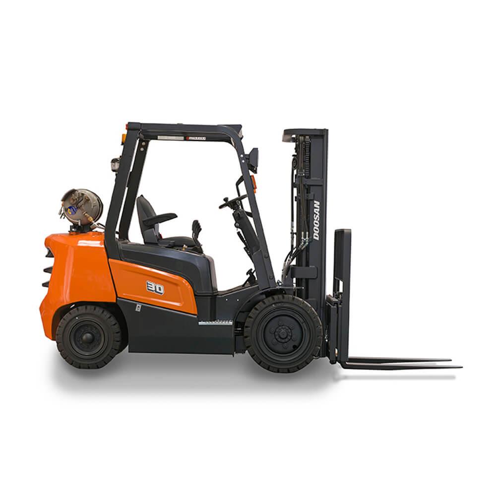 Doosan NX Plus Series 2 – 3.5 Tonne LPG Forklift Trucks