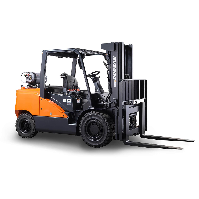 7-Series 3.5 – 5.5 Tonne LPG Forklift Trucks