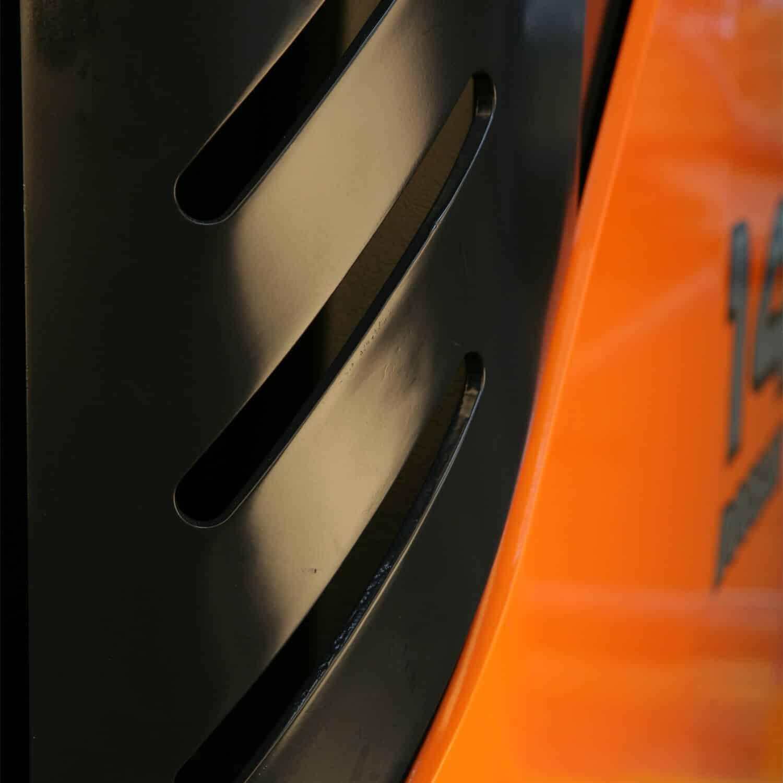 close up Doosan Reach Trucks