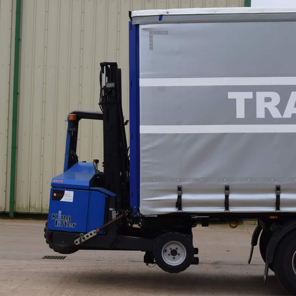 Terberg High Power Kinglifter Truck: TKS/TKM Loaded on HGV