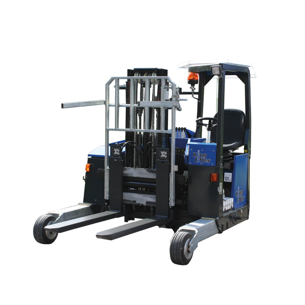 3/4 front angle of Terberg Compact Kinglifter Truck