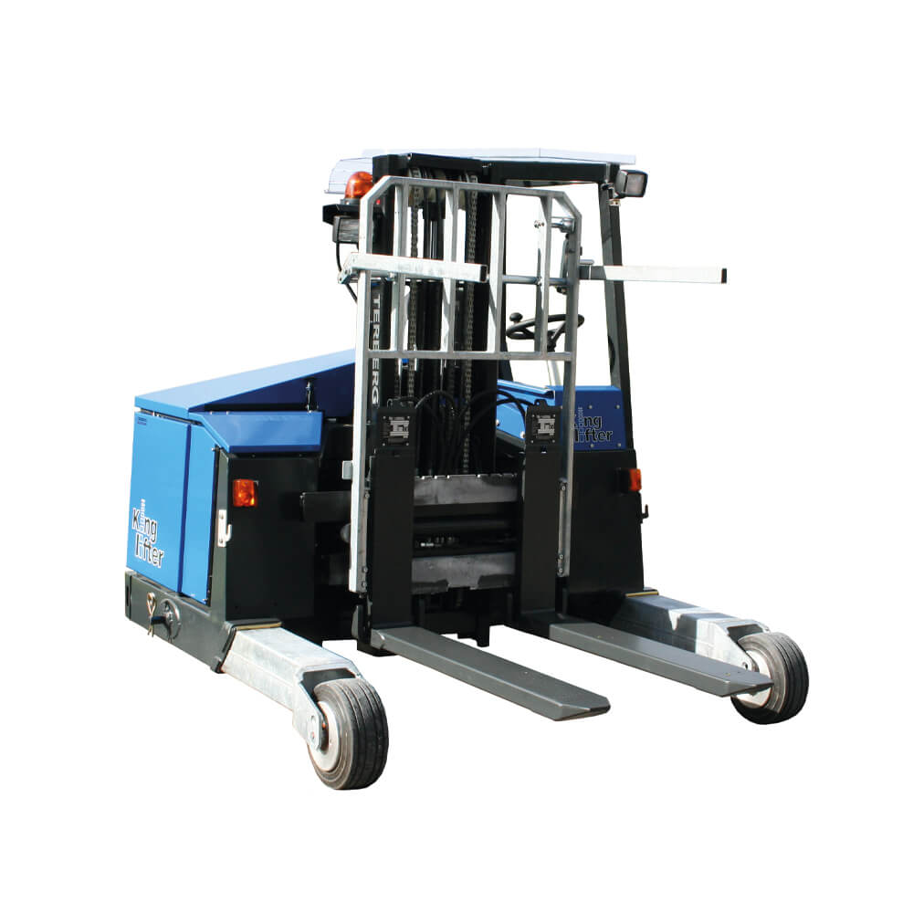 Front view Terberger King lifter