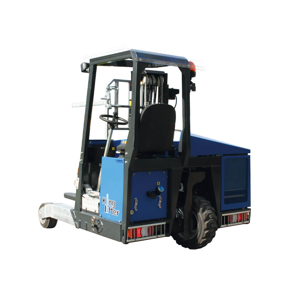 Terberger King lifter Isolated