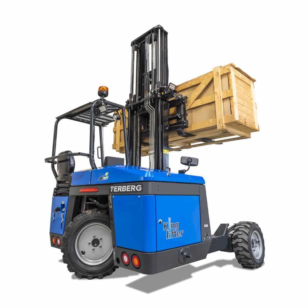 Terberg High Power Kinglifter Truck: TKS/TKM lifting load