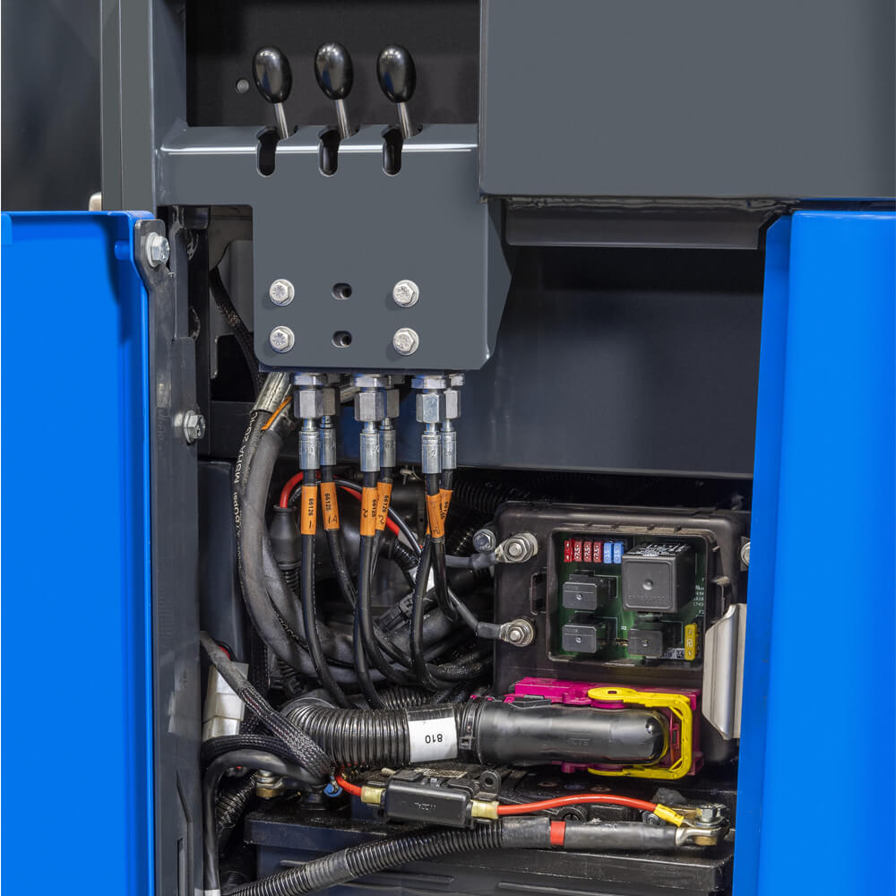 Terberg High Power Kinglifter Truck Electrics Compartment